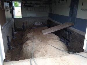 garage mitoyen - Stabilisation fondation garage - Alerte fissure