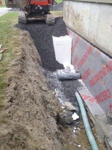 impermeabilisation et drainage des fonds - IMPERMÉABILISATION ET DRAINAGE DES FONDS - Alerte fissure