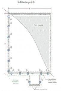 stabilisation partielle 2 - Stabilisation partielle ou totale des fondations sur pieux d'acier - Alerte fissure